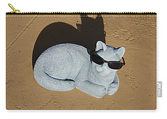 Carry-all Pouch featuring the photograph Cool Cat by Aimee L Maher Photography and Art Visit ALMGallerydotcom