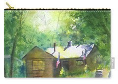 Cool Colorado Cabin Carry-all Pouch by Debbie Lewis