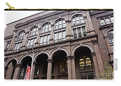 Cooper Union Carry-all Pouch by David Bearden