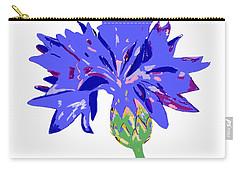 Cornflower Carry-all Pouch by Barbara Moignard
