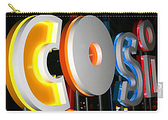 Cosi In Neon Lights Carry-all Pouch