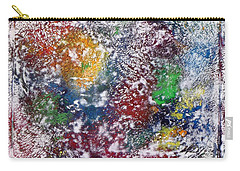 Carry-all Pouch featuring the painting Cosmos by Alys Caviness-Gober