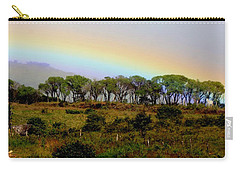 Costa Rica Rainbow Carry-all Pouch by Myrna Bradshaw