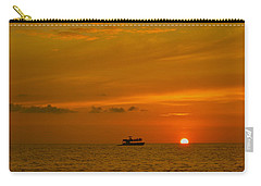 Carry-all Pouch featuring the photograph Costa Rica Sunset by Eric Tressler