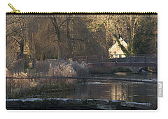Cotswold River Scene Carry-all Pouch