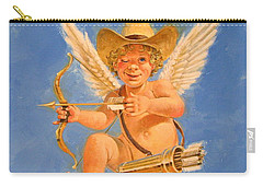Cow Kid Cupid Carry-all Pouch by Cliff Spohn