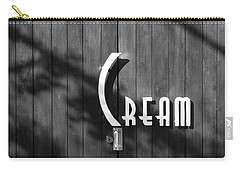 Carry-all Pouch featuring the photograph Cream by Jeannette Hunt
