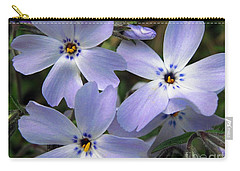 Creeping Phlox Carry-all Pouch by J McCombie