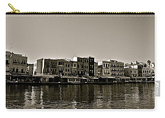 Carry-all Pouch featuring the photograph Crete Reflected by Eric Tressler