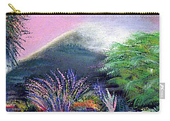 Carry-all Pouch featuring the painting Croagh Patrick by Alys Caviness-Gober