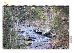 Carry-all Pouch featuring the photograph Crooked Creek by Donna G Smith