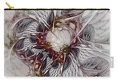 Carry-all Pouch featuring the digital art Crowd Of Sorrows by NirvanaBlues
