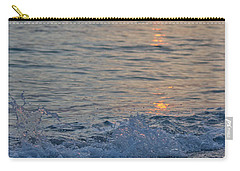 Crystal Blue Waters At Sunset In Treasure Island Florida 2 Carry-all Pouch