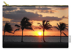 Carry-all Pouch featuring the photograph Cudjoe Sunrise by Clara Sue Beym