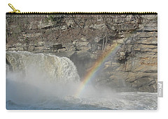 Carry-all Pouch featuring the photograph Cumberland Falls by Tiffany Erdman