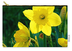 Carry-all Pouch featuring the photograph Daffodils by Sherman Perry