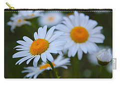 Daisy Carry-all Pouch by Athena Mckinzie