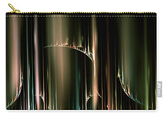 Dancing Auroras Curtains In The Sky Carry-all Pouch
