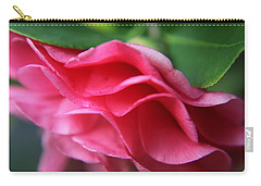 Dancing Petals Of The Camellia Carry-all Pouch