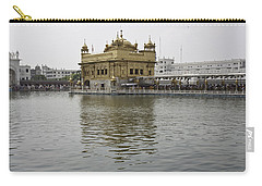 Darbar Sahib And Sarovar Inside The Golden Temple Carry-all Pouch by Ashish Agarwal