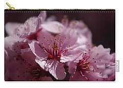 Day Dreaming In Pink Carry-all Pouch by Vicki Pelham
