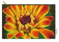 Dazzling Zinnia Carry-all Pouch