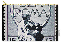 Carry-all Pouch featuring the photograph Dea Roma by Andy Prendy