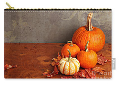 Decorative Fall Pumpkins Carry-all Pouch