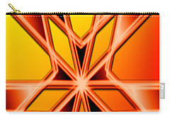 Carry-all Pouch featuring the digital art Deep Thought by George Pedro