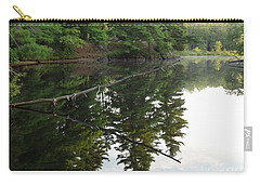 Deer River Reflection Carry-all Pouch