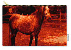 Carry-all Pouch featuring the photograph Defiance by George Pedro