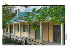 Carry-all Pouch featuring the photograph Delaware Park Casino by Michael Frank Jr
