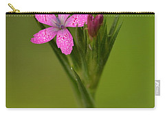 Carry-all Pouch featuring the photograph Deptford Pink by JD Grimes