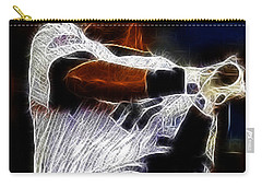 Derek Jeter New York Yankee Carry-all Pouch by Paul Ward