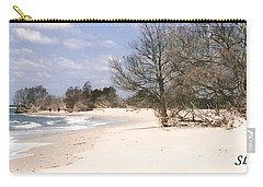 Deserted Island Carry-all Pouch