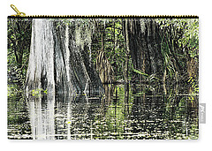 Details Of A Florida River Carry-all Pouch by Janie Johnson