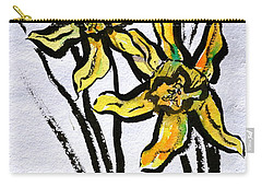 Carry-all Pouch featuring the painting Determination by Beverley Harper Tinsley