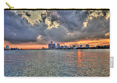 Detroit Sunset  Carry-all Pouch