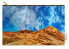 Dirt Mound And More Sky Carry-all Pouch