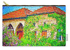 Carry-all Pouch featuring the photograph Do-00530 Old House by Digital Oil