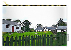 Carry-all Pouch featuring the photograph Donegal Home by Charlie and Norma Brock