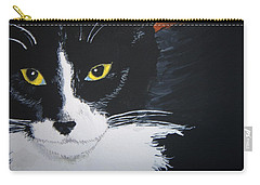 Carry-all Pouch featuring the painting Don't Bug Me by Norm Starks