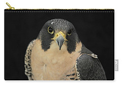 Don't Flinch... I Am Looking At You Carry-all Pouch by Laddie Halupa