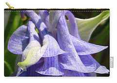 Double Columbine Named Light Blue Carry-all Pouch by J McCombie