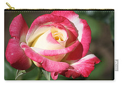 Double Delight Rose Carry-all Pouch