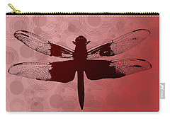 Dragonfly Carry-all Pouch by Lauren Radke