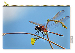 Dragonfly On A Vine Carry-all Pouch