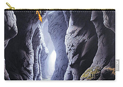 Dragons Pass Carry-all Pouch by The Dragon Chronicles - Steve Re