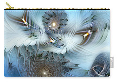 Carry-all Pouch featuring the digital art Dream Journey by Casey Kotas