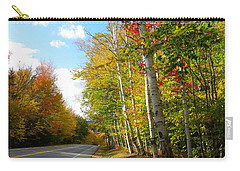 Driving Though The Birches Carry-all Pouch